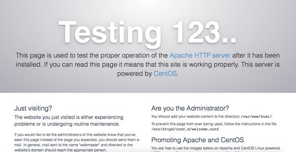 apache-testing123